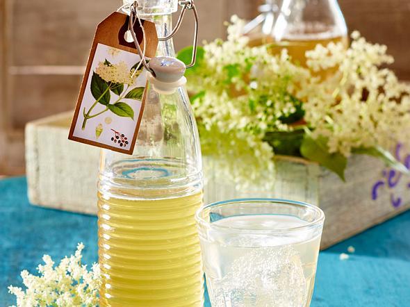 Holunderblüten-Sirup Rezept