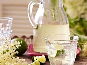 Holunderblüten- und Limetten-Sirup Rezept