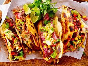 Homemade Tacos mit Spitzkohl-Slaw Rezept