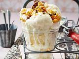 Honig-Cornflakes-Eis Rezept