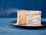 Honig-Orangen-Torte mit Bröselfinale Rezept