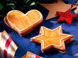 Honig-Plätzchen Sterne und Herzen Rezept