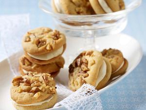 Honig-Sandwich-Cookies Rezept