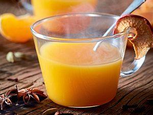 Honigsüßer Mandarinenpunsch Rezept