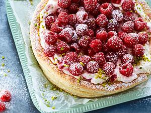 Hopp-Hopp-Himbeer-Torte Rezept