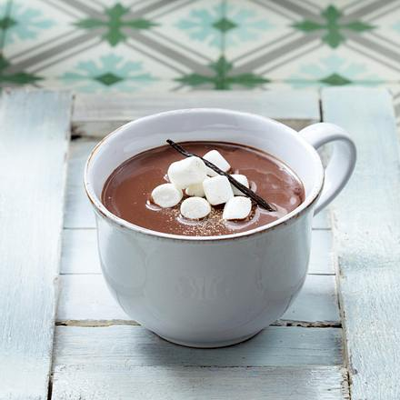 Hot Chocolate mit Marshmallows Rezept