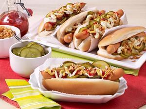Hot Dogs Rezept