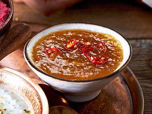 Hot Tangerine (Mandarinendip mit Chili) Rezept
