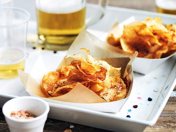 Hot Vinegar Chips Rezept