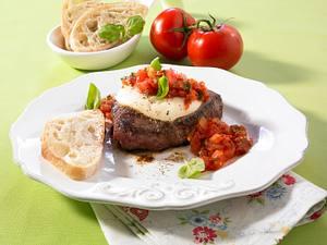 Hüftsteak mit Tomaten-Chutney Rezept