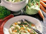 Hühner-Gemüse-Suppe mit Nudeln Rezept