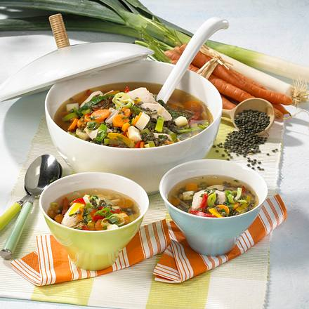Hühner-Gemüse-Topf Rezept