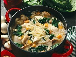 Hühner-Reistopf Rezept