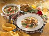 Hühner-Spargel-Ragout mit Polentaklößen Rezept