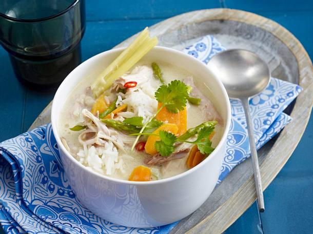 Hühnerfrikassee Bangkok Rezept