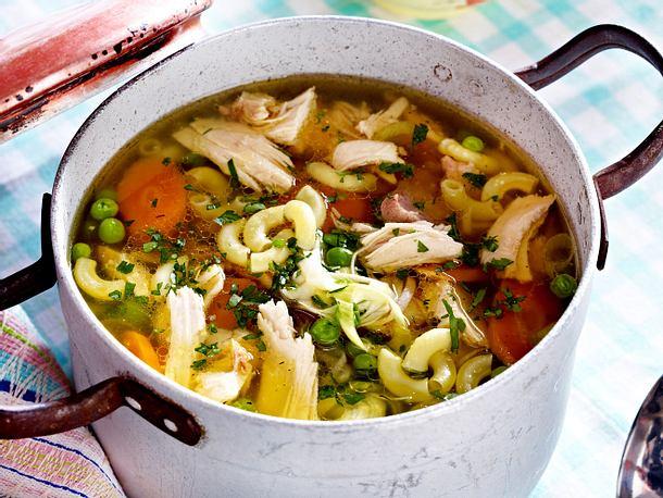 Hühnersuppe alla Mamma Rezept