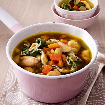Hühnertopf mit Gartengemüse Rezept