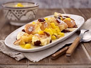 Hüttenkäse-Kaiserschmarrn mit Mango Rezept