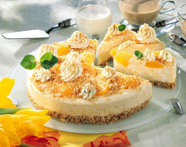 Hüttenkäsemousse-Torte Rezept