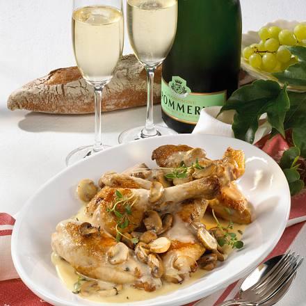 Huhn à la Champagne Rezept