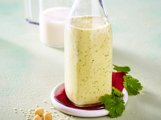 Hummus-Dressing Rezept