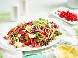 In Schallgeschwindigkeit zum Quinoa-Salat Rezept