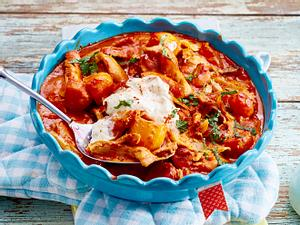 Indisches Hähnchen in Tomatencreme Rezept
