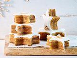 Indonesische Gewürz-Baumkuchensterne Rezept