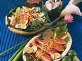 Indonesische Spezialitäten: Rotbarben in Kokos-Soße Rezept