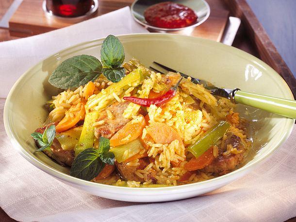Indonesisches Reisfleisch Rezept