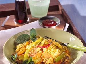 Indonesisches Reisfleisch (Diabetiker) Rezept