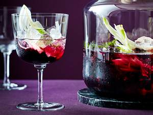 Infused Wodka mit Blaubeere & Fenchel