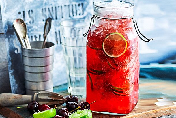 Infused Water - Spicy Berry Rezept