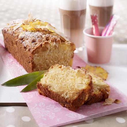 Ingwer-Ananas-Brot mit Kokos Rezept