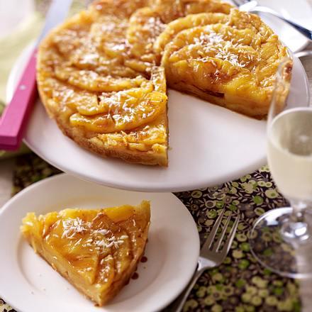Ingwer-Ananas Tarte Rezept