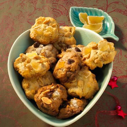 Ingwer-Erdnuss-Cookies Rezept