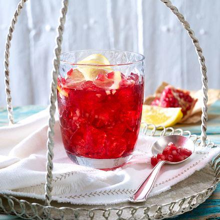Ingwer-Granatapfel-Saft Rezept