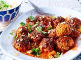 Ingwer-Hackbällchen in Bollywoodsoße Rezept