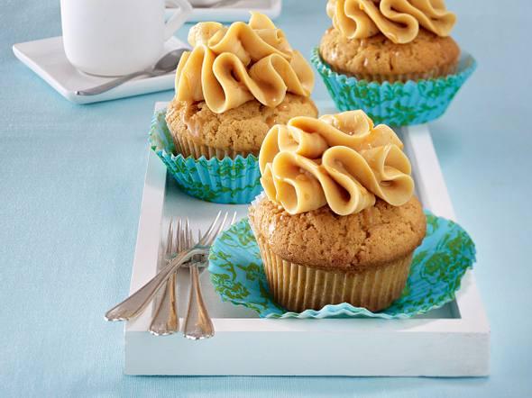 Ingwer-Karamell-Cupcakes Rezept