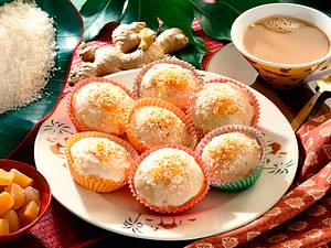 Ingwer-Kokos Törtchen Rezept
