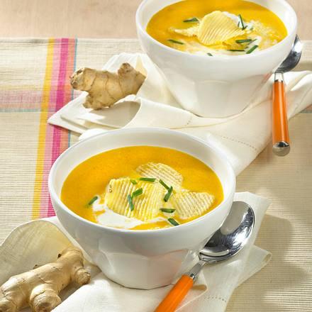 Ingwer-Möhren Suppe Rezept