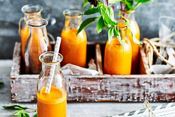 Ingwer-Shots mit Orange Rezept