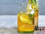 Ingwer-Thymian-Cooler Rezept