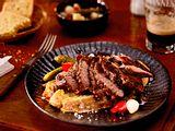 Irisches Spiced Beef mit Guinness-soße Rezept