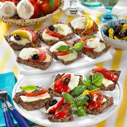 Italienisch-Griechische Hack-Quiche Rezept