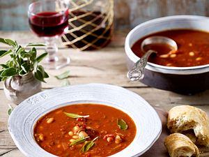 Italienische Bohnensuppe Rezept