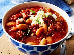 Italienisches Chili con carne mit Salsicce Rezept