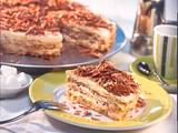 Italienische eisgekühlte Espresso-Torte Rezept