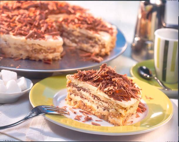 Italienische eisgekühlte Espresso-Torte Rezept - LECKER.de