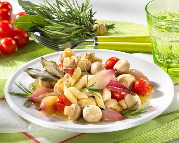Italienische Gemüse-Nudel-Pfanne Rezept